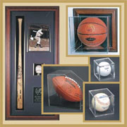 We offer a wide variety of sport display cases in stock.