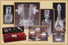 Wine Boxes, Decanters, Water Sets, Ice Buckets and more